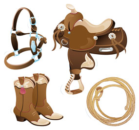 Western horse tack